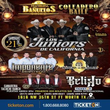 COLEADERO BAILE CON LOS JUNIORS DE CALIFORNIA: Main Image