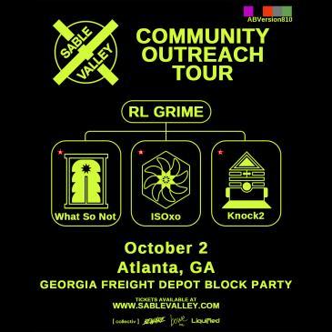 RL Grime: Georgia Freight Depot Block Party: