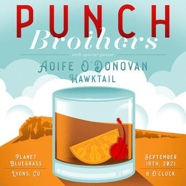 Punch Brothers w/ special guests Aoife O'Donovan & Hawktail: