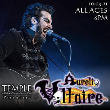Temple Presents: Aurelio Voltaire: