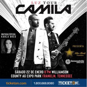 CAMILA - LUZ TOUR