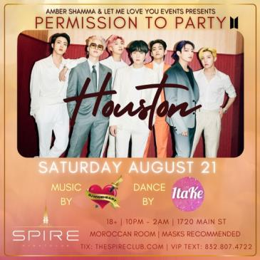 Permission to Party / Sat August 21st / Spire-img