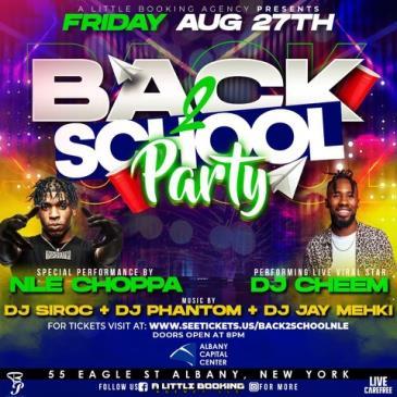 Back 2 School Party f/ NLE Choppa: