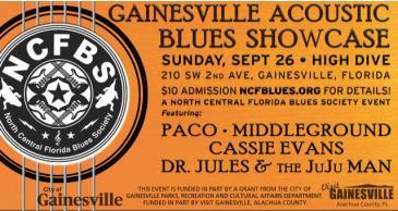 Gainesville Acoustic Blues Showcase: