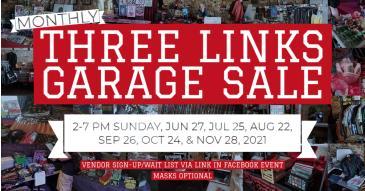 Three Links Garage Sale!: