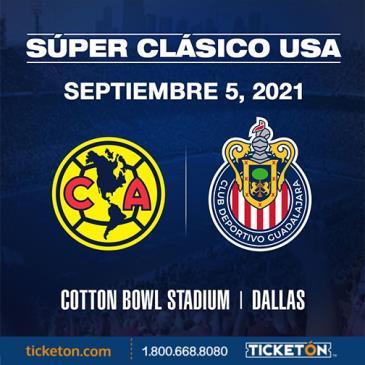 CLUB AMERICA VS CHIVAS - SUPER CLASICO