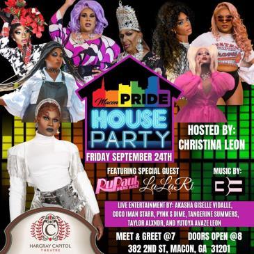 Macon Pride Drag Show: