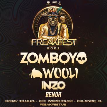 Freakfest Ft. Zomboy - ORLANDO: