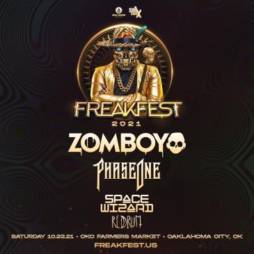 Freakfest Ft. Zomboy - OKC: