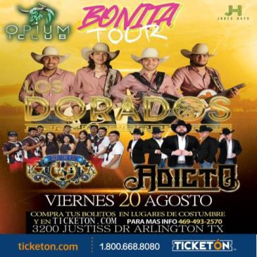 LOS DORADOS BONITA TOUR