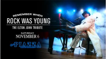 Remember When Rock Was Young - The Elton John Tribute: