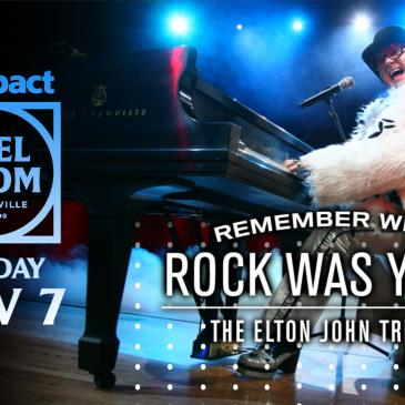 Remember When Rock Was Young - The Elton John Tribute-img