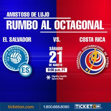 EL SALVADOR VS COSTA RICA