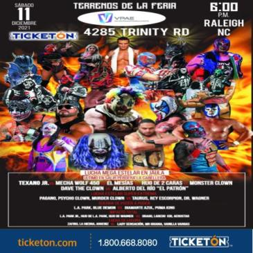 FIRST WORLD ATTACK MEXICAN WRESTLING