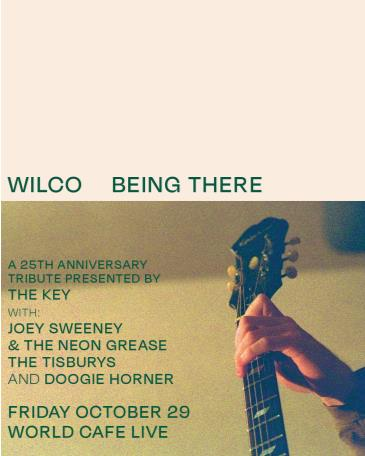 25th Anniversary of Wilco's Being There Presented by The Key: