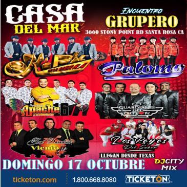 ENCUENTRO GRUPERO TOUR EN SANTA ROSA: