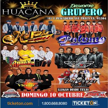 ENCUENTRO GRUPERO TOUR EN TRACY: