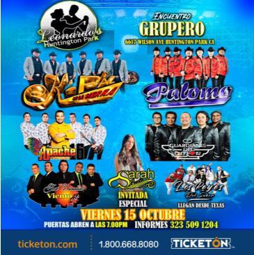 ENCUENTRO GRUPERO TOUR EN H.P.: