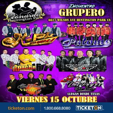 ENCUENTRO GRUPERO TOUR EN H.P.