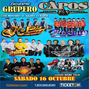 ENCUENTRO GRUPERO TOUR EN GILROY