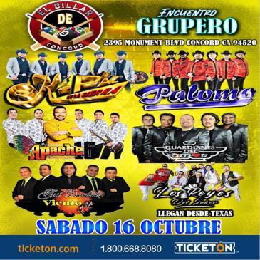 ENCUENTRO GRUPERO TOUR EN CONCORD: