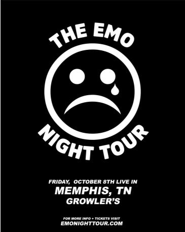 Emo Night Tour - Memphis, TN: