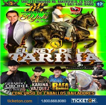 EL REY DE LA TARIMA TOUR: