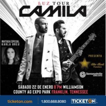 CAMILA - LUZ TOUR: