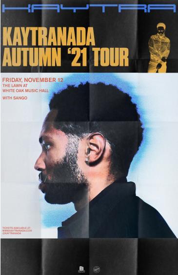 Kaytranada - Autumn '21 Tour: