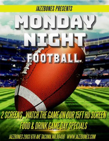 Monday Night Football: Seahawks/Saints:
