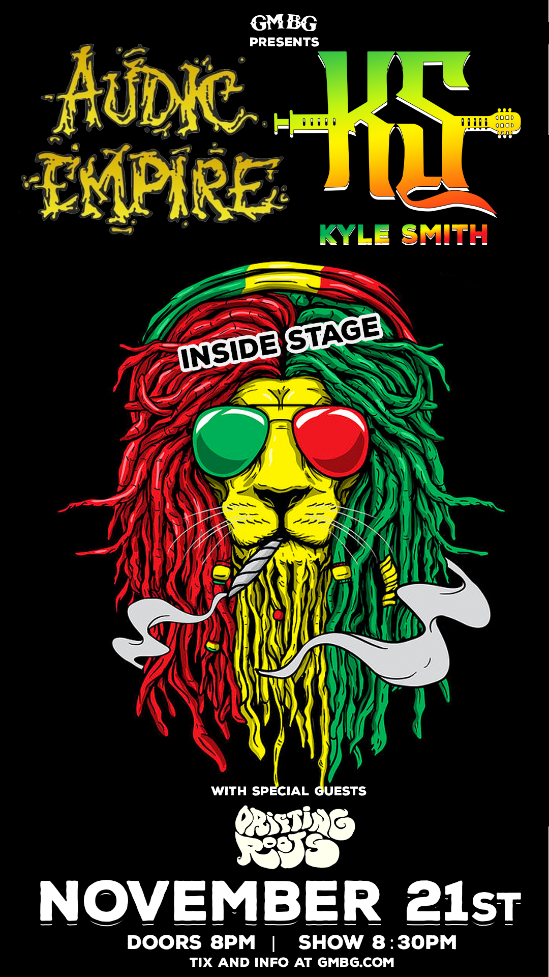 Audic Empire/Kyle Smith – INSIDE STAGE