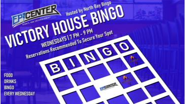 Victory House Bingo:
