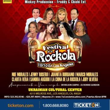 FESTIVAL DE LA ROCKOLA EN LOS ANGELES: