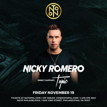 Nicky Romero: with Support By: Topic-img