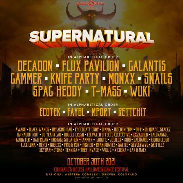 Supernatural Festival: