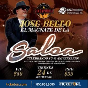 JOSE BELLO EL MAGNATE DE LA SALSA