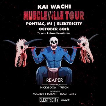 KAI WACHI: MUSCLEVILLE TOUR: