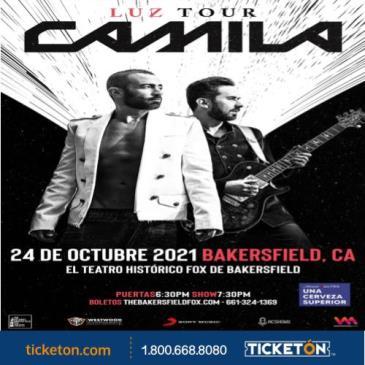CAMILA LUZ TOUR: