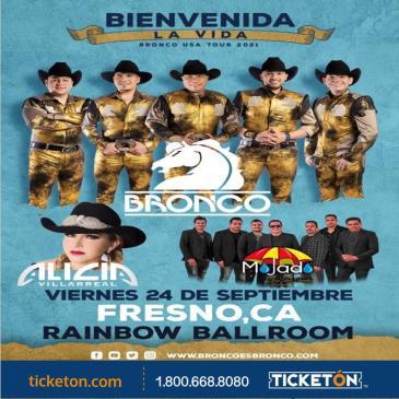 BIENVENIDA LA VIDA BRONCO TOUR USA