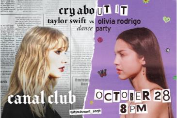 Cry About It: Taylor Swift V Olivia Rodrigo Dance Party: