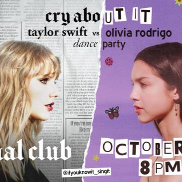 Cry About It: Taylor Swift V Olivia Rodrigo Dance Party-img