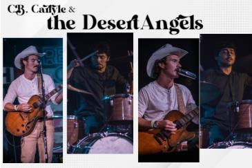C.B Carlyle & the Desert Angels, Luke Sechrest, Vincent Ryan: