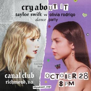 Cry About It: Taylor Swift V. Olivia Rodrigo Dance Party-img