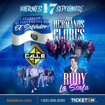 LOS HERMANOS FLORES, LA CALLE Y RUDY LA SCALA EN LOS ANGELES