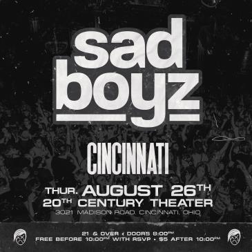 Sad Boyz at 20th Century Theater: