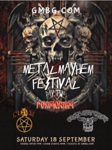 Metal Mayhem Festival - Day 2: