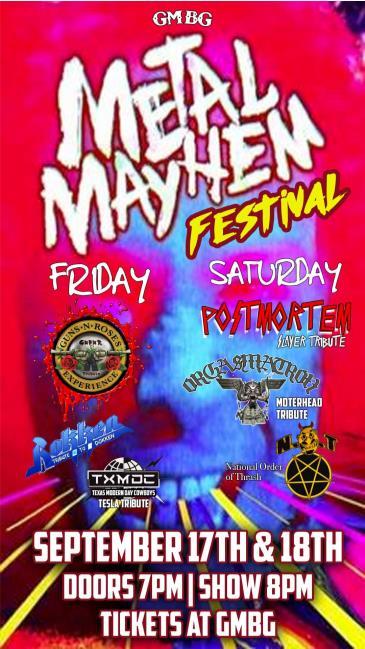 Metal Mayhem Festival - Day 1: