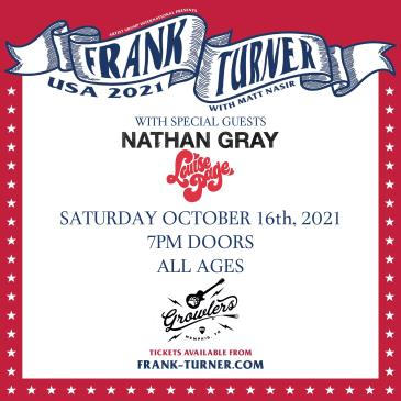 Frank Turner w/ Nathan Gray(boysetsfire) and Louise Page: