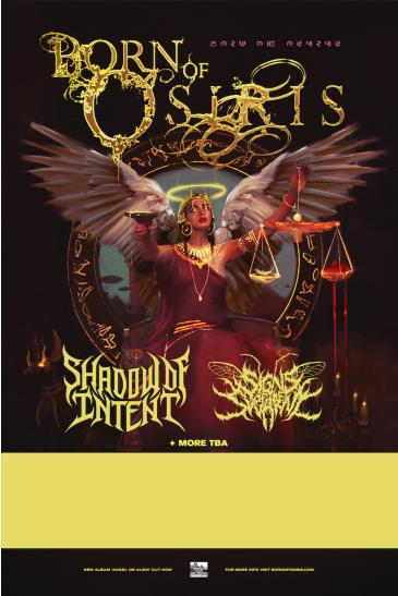Born of Osiris - Angel or Alien Tour at King of Clubs: