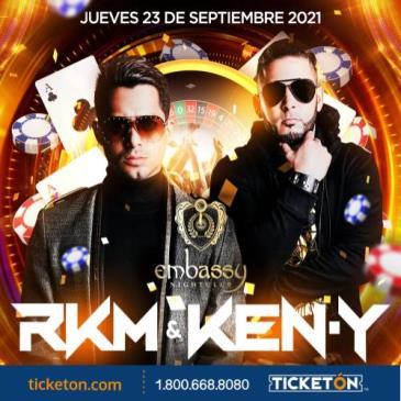 RKM & KEN-Y en EMBASSY Las Vegas!